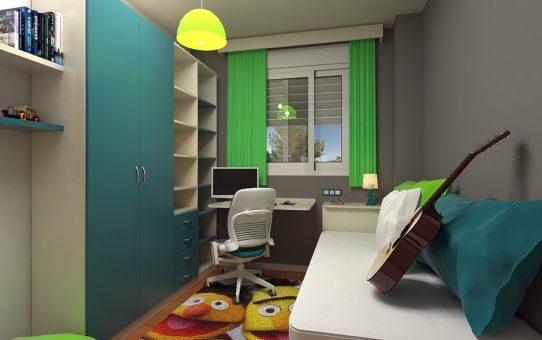 wystrój pokoju dziecięcego